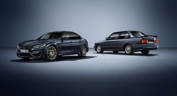 BMW M3 - 30 Jahre Edition - 2016 - 1986 BMW M3 - side-face / profil